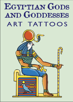 Egyptian Gods and Goddesses Art Tattoos