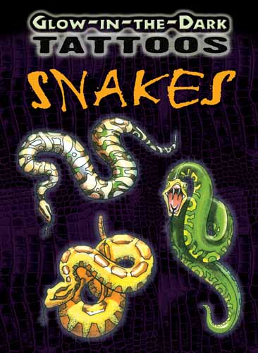 Glow-in-the-Dark Tattoos Snakes