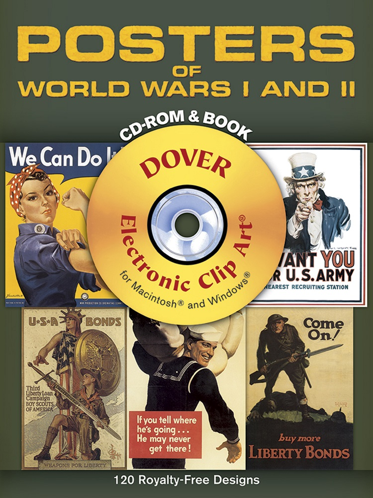 Posters of World Wars I and II CD-ROM and Book