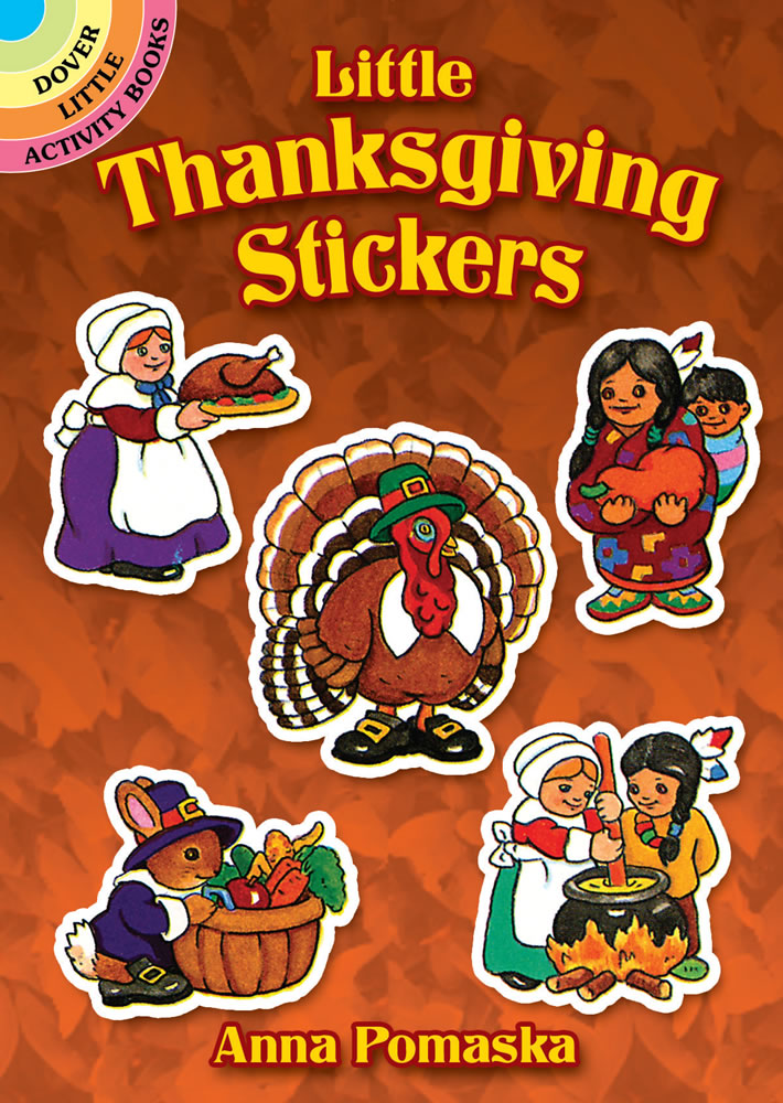 Little Thanksgiving Stickers