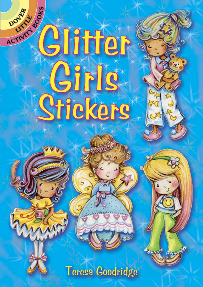Glitter Girls Stickers