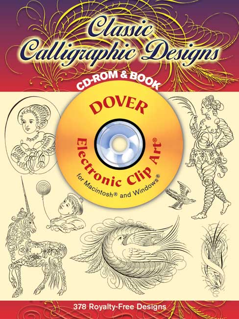 Classic Calligraphic Designs CD-ROM and Book