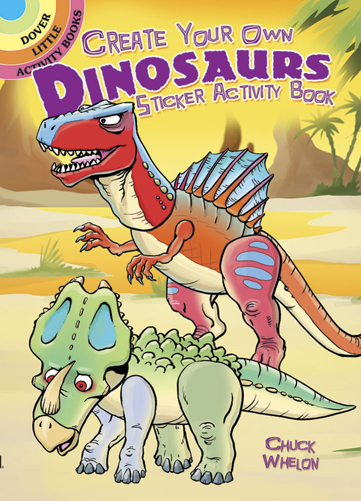 Create Your Own Dinosaurs Sticker Activity Book