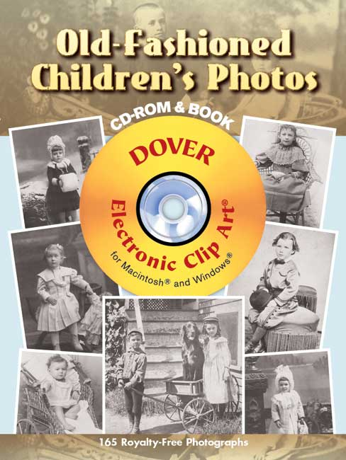 Old-Fashioned Children's Photos CD-ROM and Book