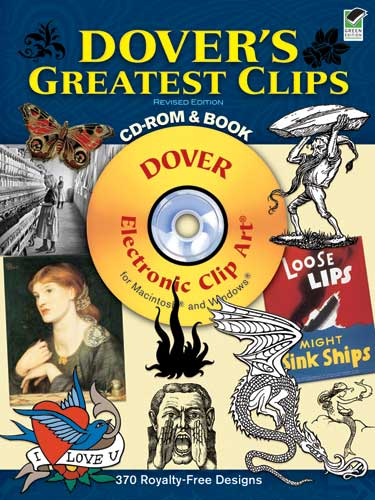 Dover's Greatest Clips CD-ROM and Book: Volume II