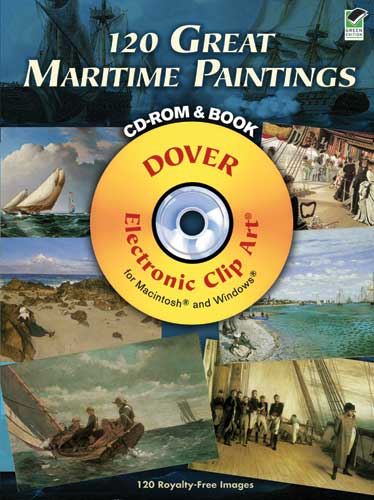 120 Great Maritime Paintings CD-ROM and Book