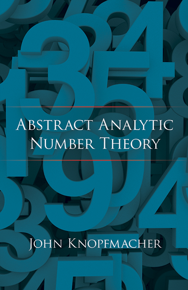 Abstract Analytic Number Theory