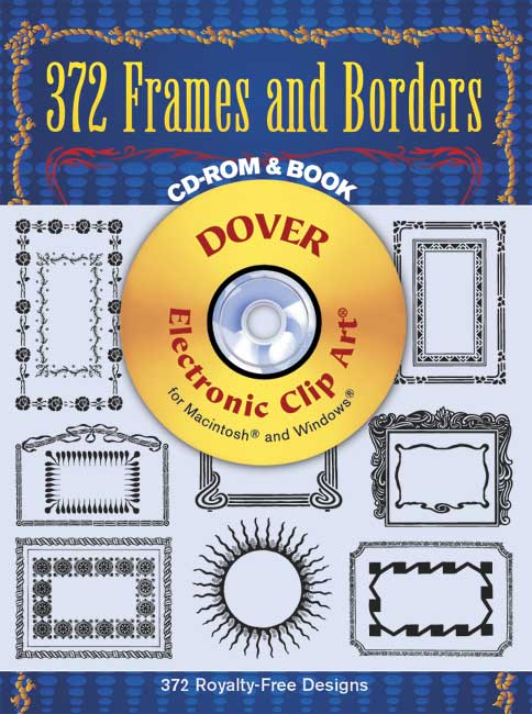 372 Frames and Borders CD-ROM and Book