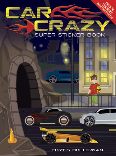 Car Crazy Super Sticker Book