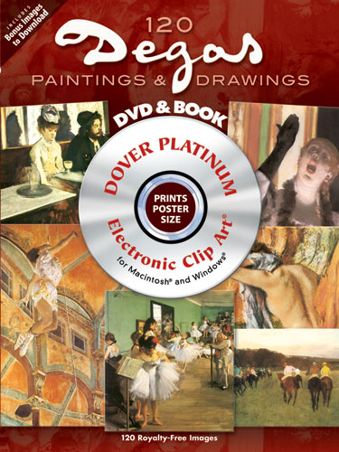 120 Degas Paintings and Drawings Platinum DVD and Book