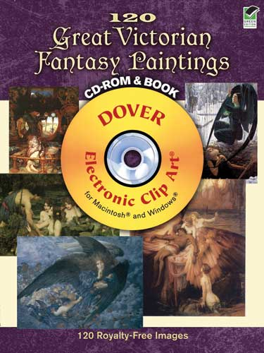 120 Great Victorian Fantasy Paintings CD-ROM and Book