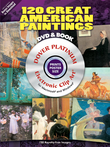 120 Great American Paintings Platinum DVD and Book