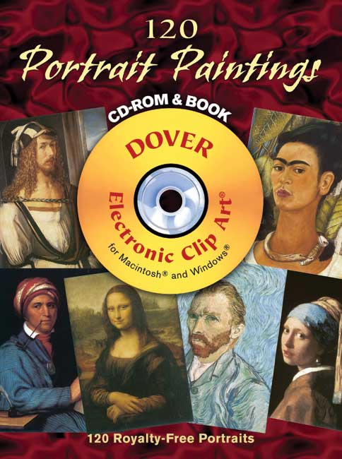 120 Portrait Paintings CD-ROM and Book