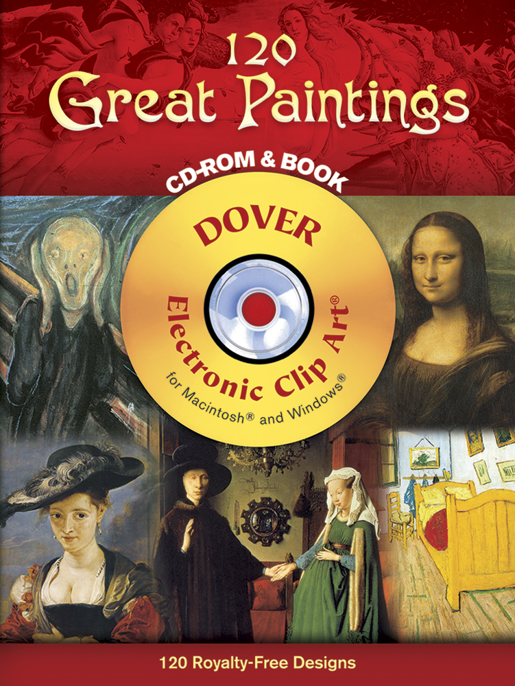 120 Great Paintings CD-ROM and Book