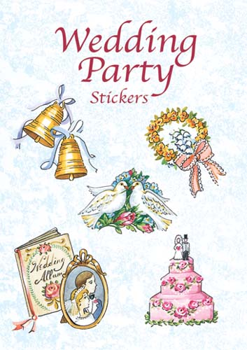 Wedding Party Stickers