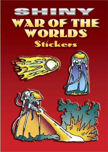 Shiny War of the Worlds Stickers