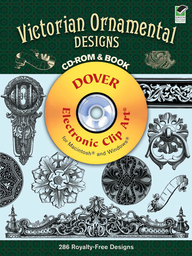 Victorian Ornamental Designs CD-ROM and Book