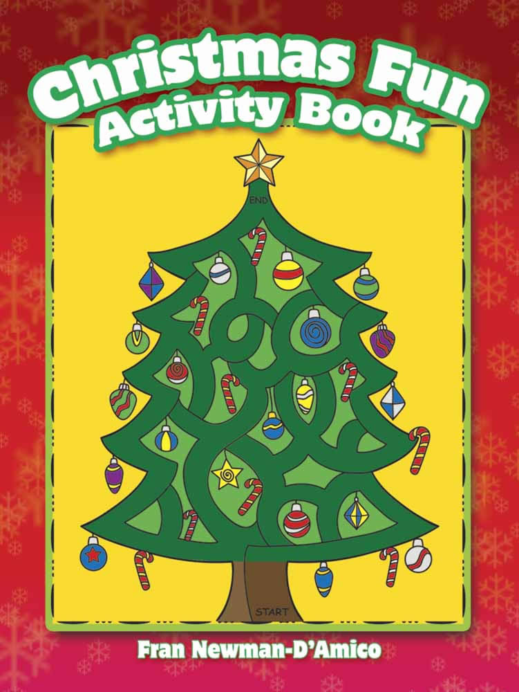 Christmas Fun Activity Book