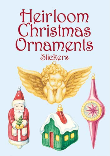Heirloom Christmas Ornaments Stickers