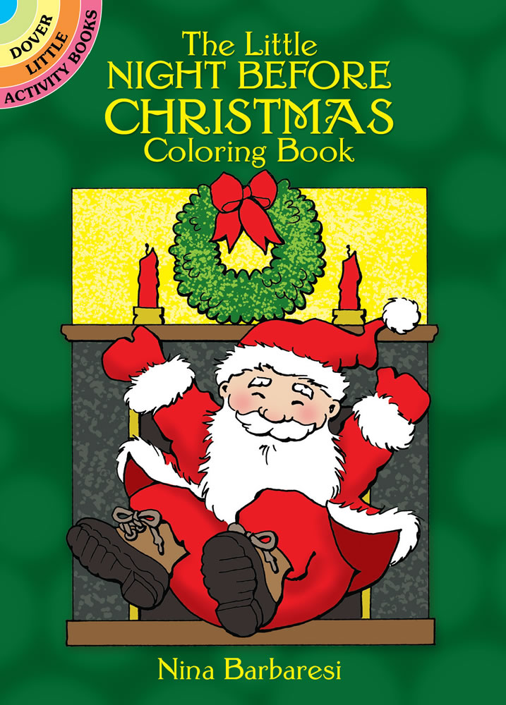 The Little Night Before Christmas Coloring Book