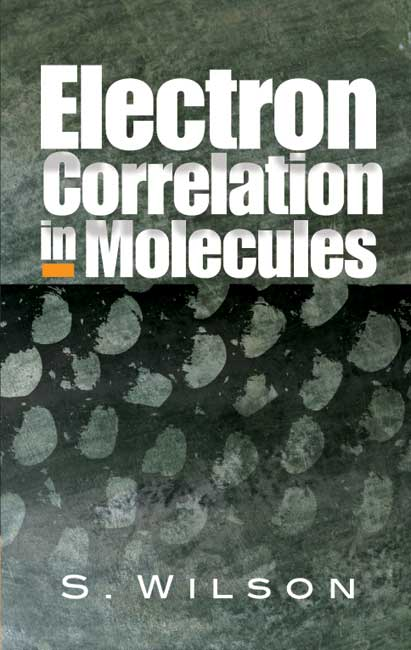 Electron Correlation in Molecules