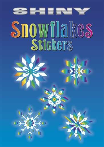 Shiny Snowflakes Stickers