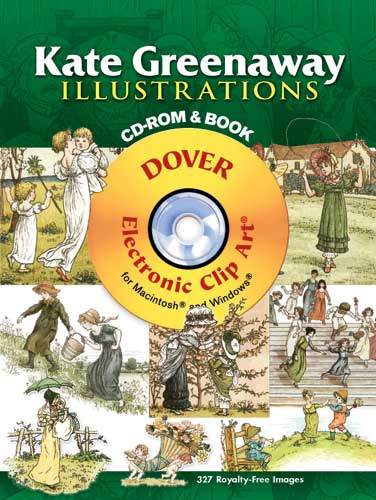 Kate Greenaway Illustrations CD-ROM and Book