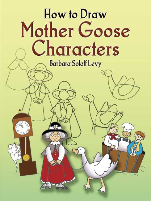 How to Draw Mother Goose Characters