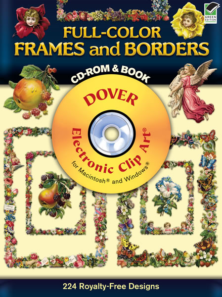 Full-Color Frames and Borders CD-ROM and Book