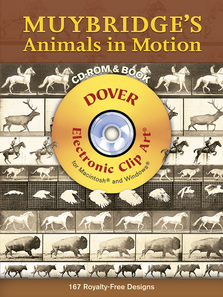 Muybridge's Animals in Motion CD-ROM and Book