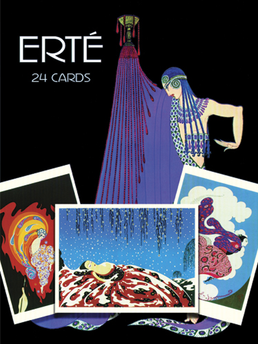 Erté Postcards in Full Color