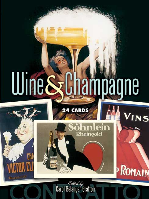 Wine and Champagne: 24 Cards