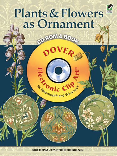 Plants & Flowers as Ornament CD-ROM and Book