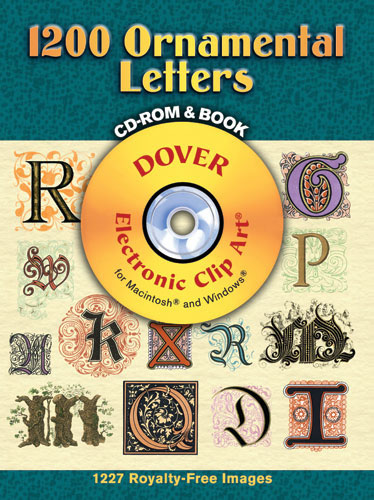 1200 Ornamental Letters CD-ROM and Book