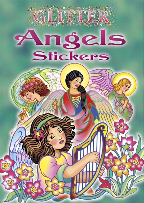 Glitter Angels Stickers
