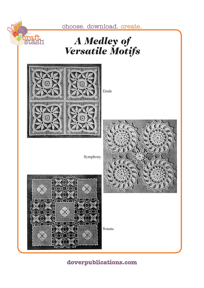 A Medley of Versatile Motifs (digital pattern)