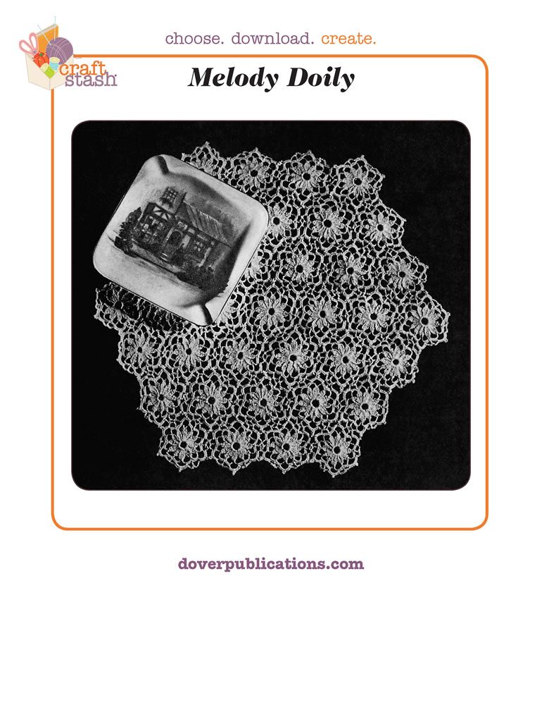 Melody Doily (digital pattern)