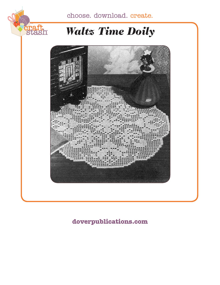 Waltz Time Doily (digital pattern)