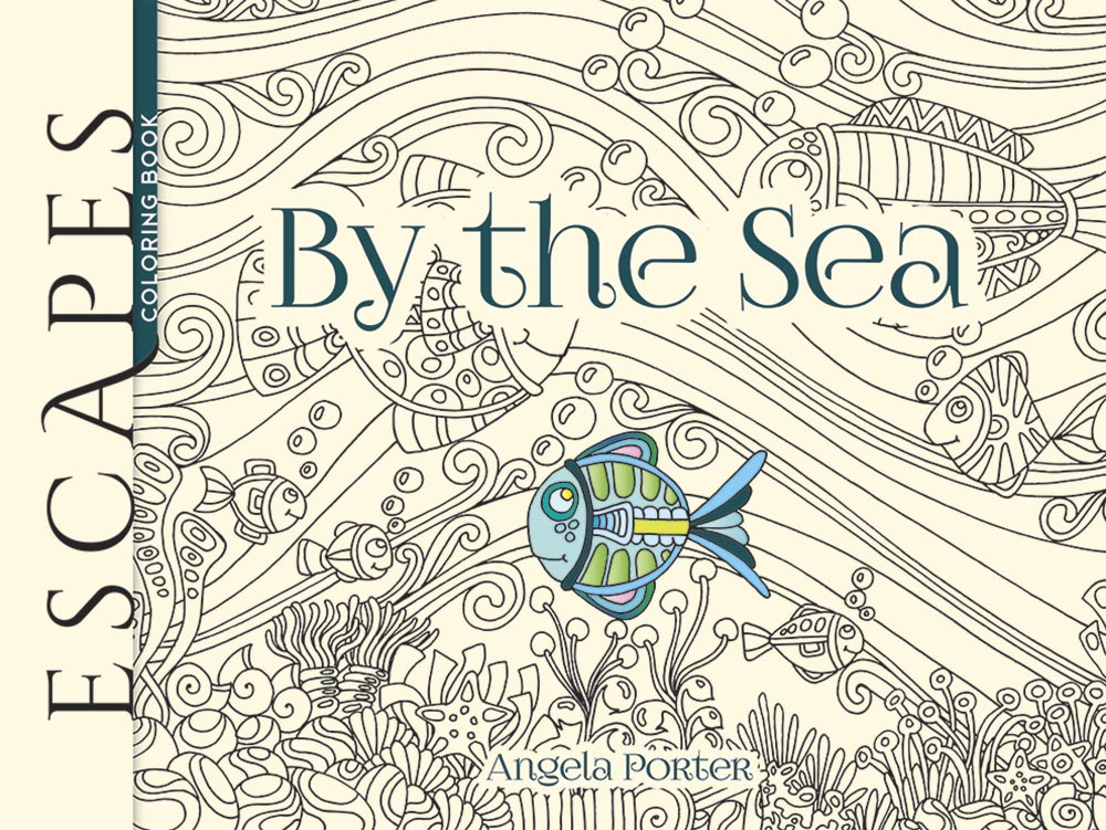 ESCAPES By the Sea Coloring Book