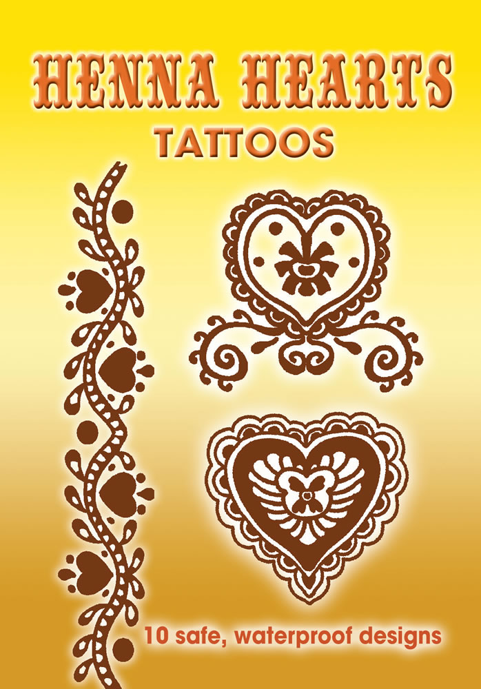Henna Hearts Tattoos