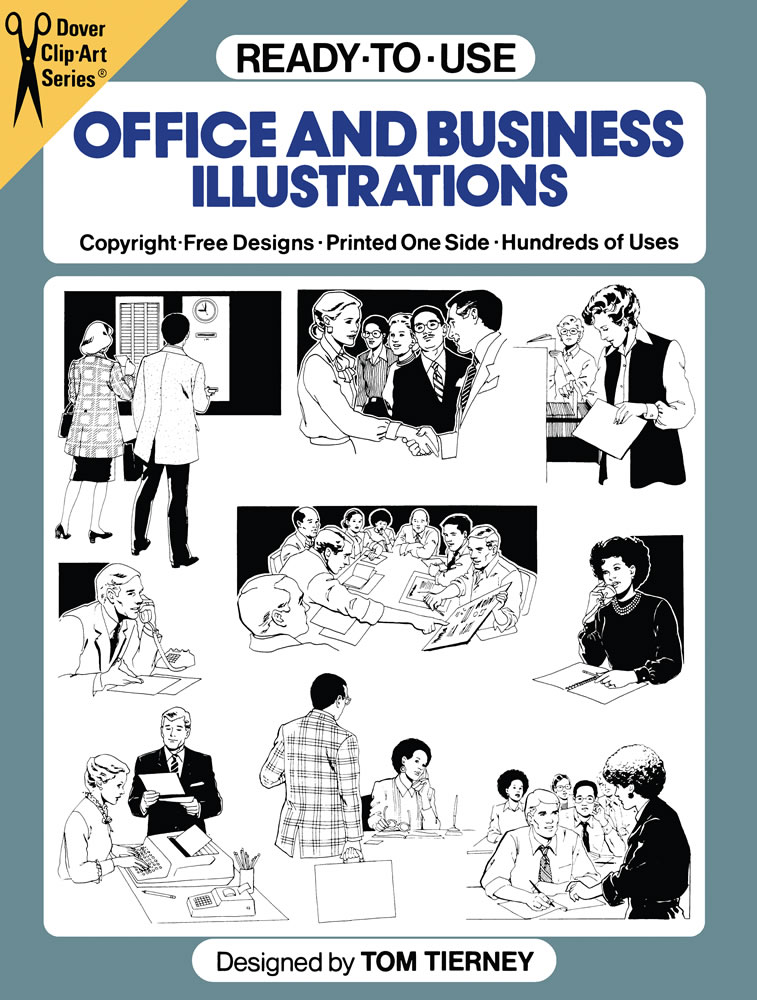 Ready-to-Use Office and Business Illustrations