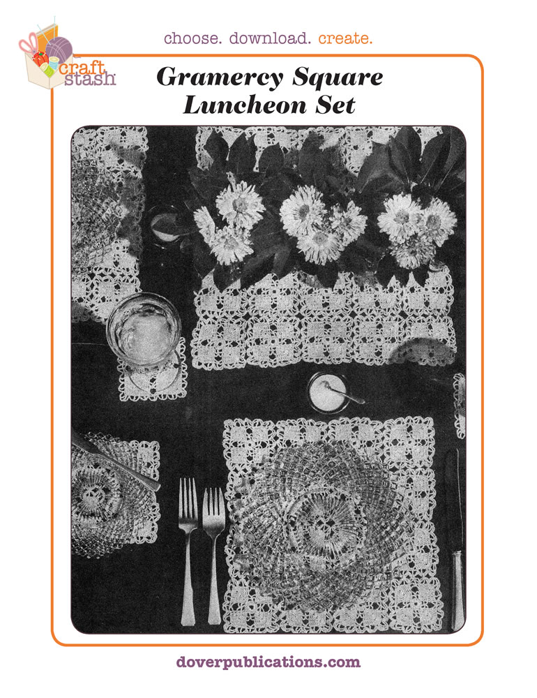 Gramercy Square Luncheon Set (digital pattern)