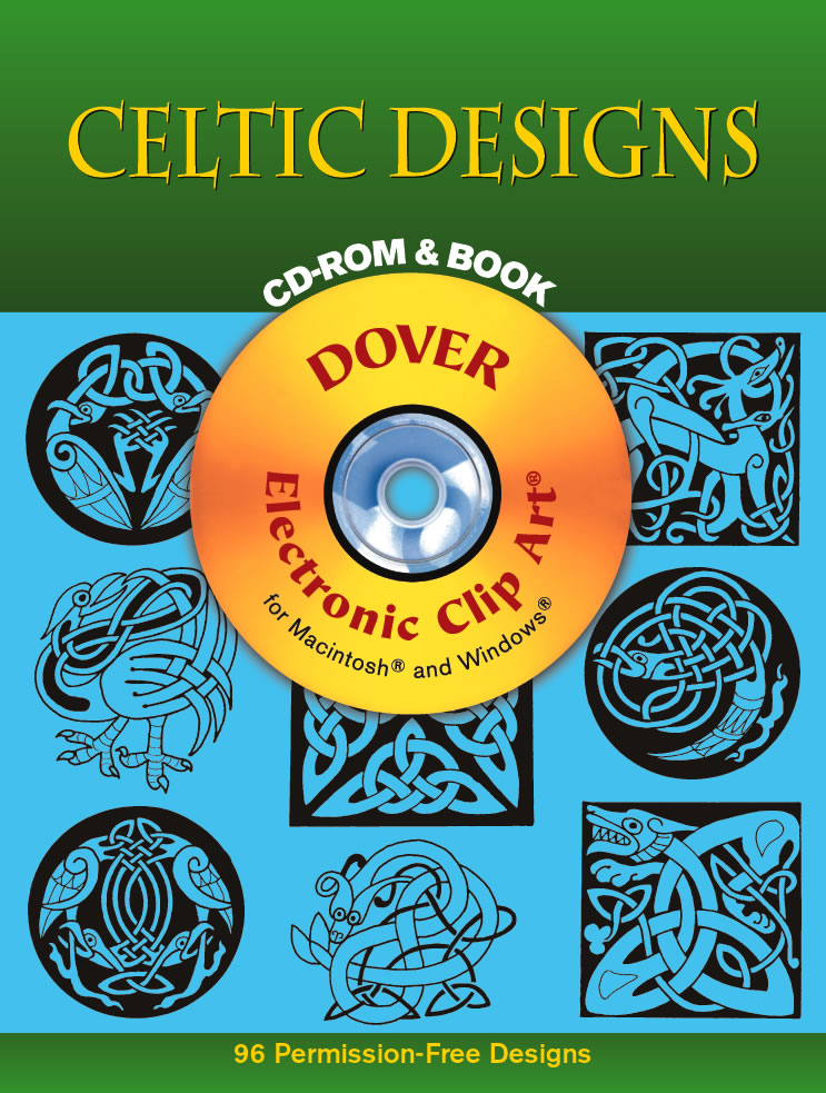 Celtic Designs CD-ROM and Book