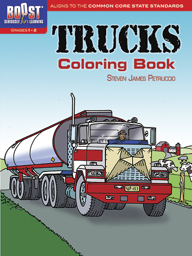 BOOST Trucks Coloring Book