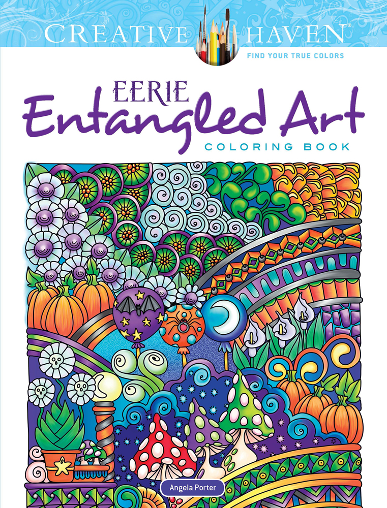 Creative Haven Eerie Entangled Art Coloring Book