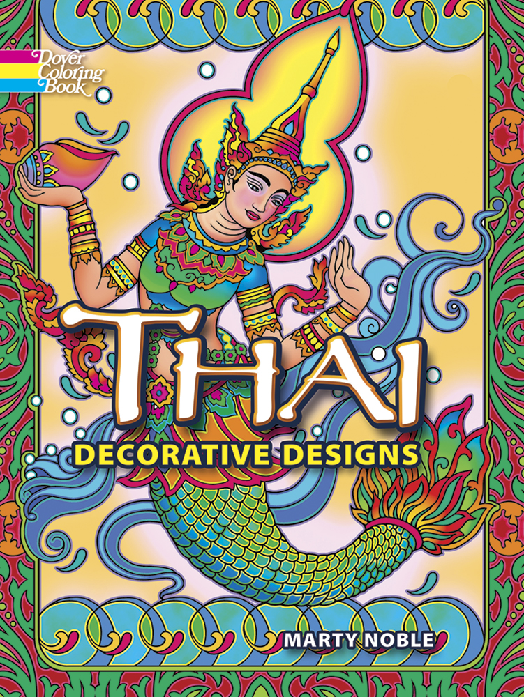 Thai Decorative Designs Coloring Book