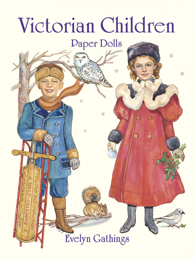 Victorian Children Paper Dolls