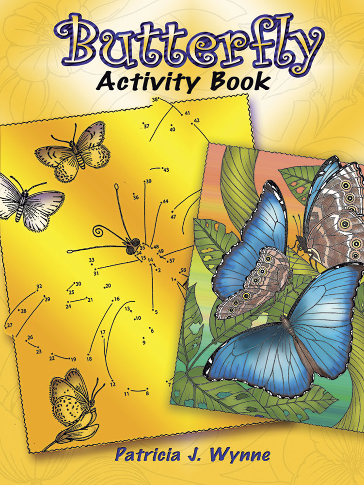 Butterfly Activity Book