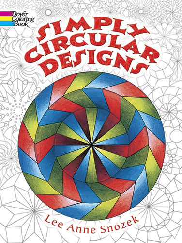Simply Circular Designs Coloring Book