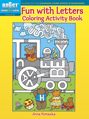 BOOST Fun with Letters Coloring Activity Book